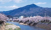Mt.Hiei and Takano River