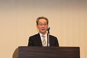 古山正雄学長の開会挨拶