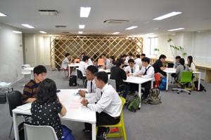 日本人学生との交流会