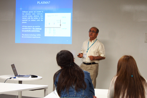 Lecture by Prof. Boufendi