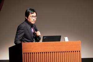 4大学連携による共同研究発表を行った本学 福澤理行 准教授