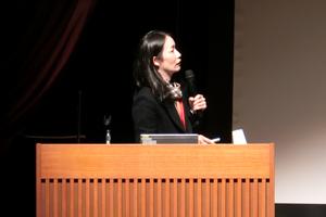 4大学連携による共同研究発表を行った本学 岡久陽子 助教